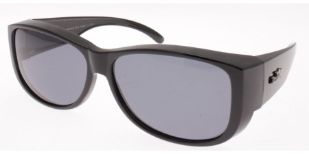 POL8006 Matt Black - Grey lenses  (212432)